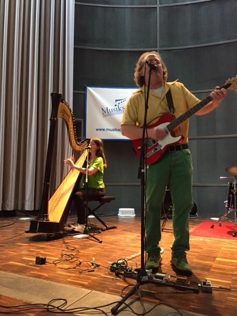 Performing at Musikschule Bezirk Schwetzingen e.V.